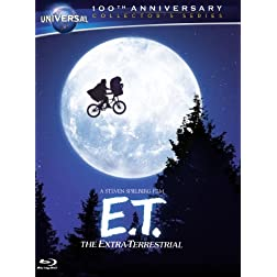 E.T. The Extra-Terrestrial (Blu-ray + DVD + Digital Copy + UltraViolet)