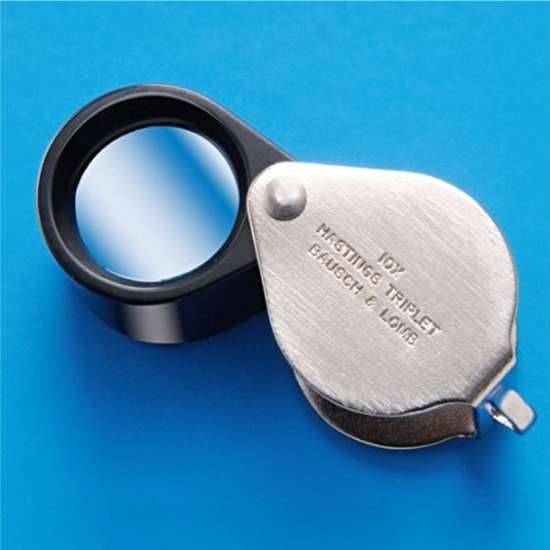 BAUSCH & LOMB Hastings Triplet Magnifier – Model: 816171 MAGNIFICATION: 10X
