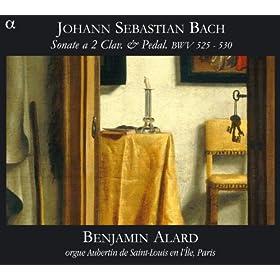 Bach: Sonate a 2 Clav. & Pedal. BWV 525 - 530