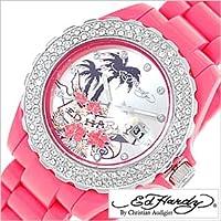 エドハーディー腕時計[EdHardy時計]( Ed Hardy 腕時計 エド ハーディー 時計 )ロキシー(ROXY)/メンズ/レディース/男女兼用時計EDHARDY-RX-DP