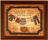 Wash Day Laundry Room Decor Linda Spivey Framed Print
