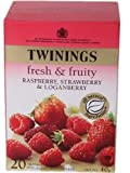 Twinings Raspberry Strawberry & Loganberry Caffeine Free 20 40g