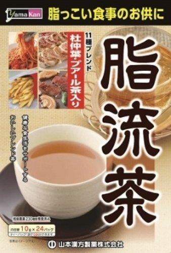 脂流茶,山本汉方制药出品,减少脂肪在体内堆积,健康瘦身控制体重,日亚自营6折
