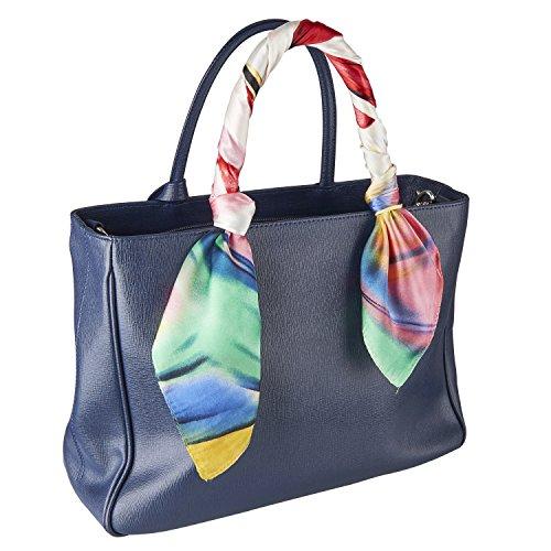 Natale accessorio borsa Donne piazza Sciarpa Seta Faux Primavera Estate Autunno di lusso 60 * 60cm