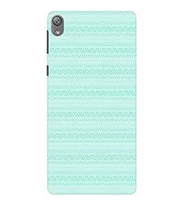 EPICCASE ethnic design Mobile Back Case Cover For Sony E5 (Designer Case)