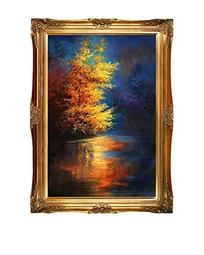 Justyna Kopania River Framed Hand-Painted Reproduction