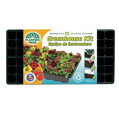 Planters Pride Rzg0809 72 Cell Grower Starter Kit With
