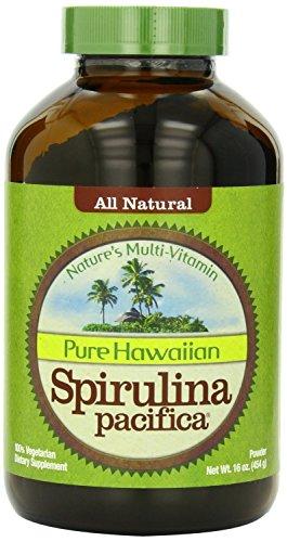 Nutrex Hawaii Hawaiian Spirulina Pacifica Powder, 16-Ounce Bottle