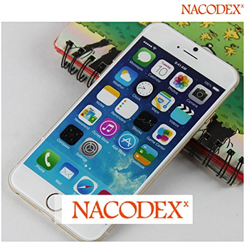 Nacodex® 1:1 5.5'' Oem Size Non Working Screen Dummy Display Fake Phone Model For Apple Iphone 6 Plus 5.5'' 5.5Inch At&T Verizon T-Mobile Sprint [ Easy To Use ✔] [ Opp Bag Package✔] [ Fast & Free Shipping✔] [ W/Tracking No. ✔] 【 Retail Store 】 (White) front-192445