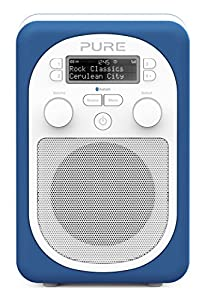 Pure Evoke D2 Mio Portable DAB Digital/FM Radio with Bluetooth - Cerulean