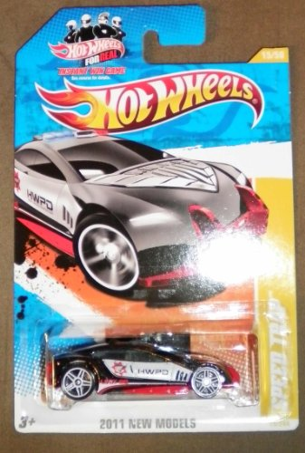 2011 HOT WHEELS NEW MODELS 15/50 BLACK SPEED TRAP 15/244