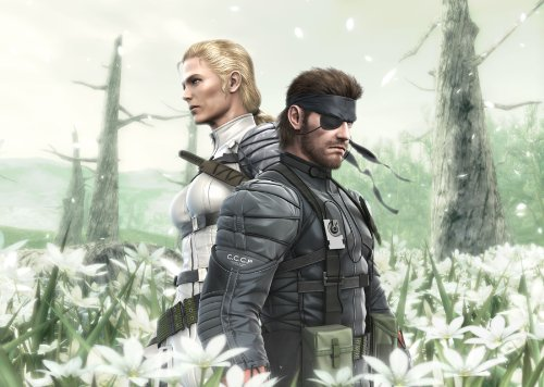 Metal Gear Solid Snake Eater screenshot