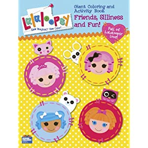 Lalaloopsy Coloring Book Party Favors