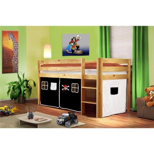 lit superpose noir pas cher. Black Bedroom Furniture Sets. Home Design Ideas