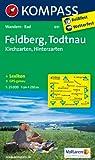 Feldberg - Todtnau - Kirchzarten - Hinterzarten: Wanderkarte mit KOMPASS-Lexikon und Radwegen. GPS-genau. 1:25000 (KOMPASS-Wanderkarten)