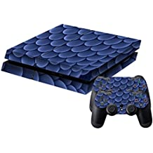Generic Blue Balls Pattern Protective Skin Sticker Cover Skin Sticker For PS4 Game Console