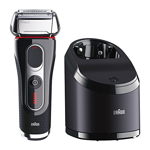 Braun Series 5 5090cc Electric Foil Shaver for Men with Clean & Charge Station, Electric Men's Shaver, Razors, Shavers, Cordless Shaving System (Contact Seller Amazon compare prices)