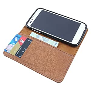 For Lava Xolo Q600 - PU Leather Wallet Flip Case Cover
