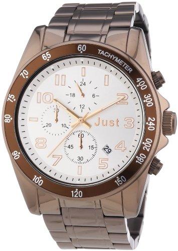 Just Watches - Orologio da polso, analogico al quarzo, acciaio INOX, Unisex
