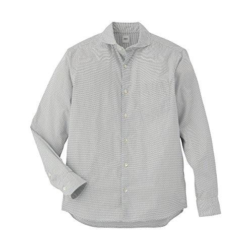 タケオキクチ(TAKEO KIKUCHI) 【ON/OFF兼用】シャツ(フィッシュプリントブロードシャツ)【101ホワイト/M】