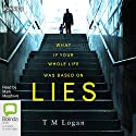 Lies Audiobook by T.M. Logan Narrated by Mark Meadows