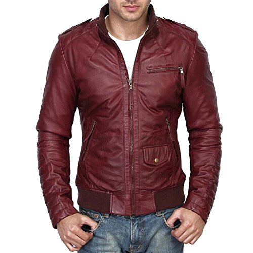 943fadd289a Lathero Men s Leather Jacket  NA  Rs  Mrp - NA   - Onlinedeals ...