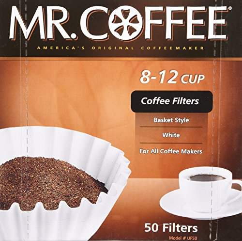 Mr Coffee 8-12 Cup Coffee Filters, 50 Filters (Coffee Filter 10 Cup compare prices)