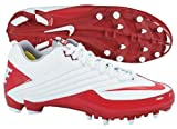 Nike 396237161 Speed TD Men's Football Cleats (White/Red)