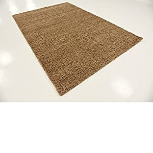 A2Z RUG SOFT SUPER THICK SHAGGY RUGS Dark Beige 60X100 CM - 2'X3'3'' FT AVAILABLE IN MANY COLOURS AND SIZES AREA RUGS from A2Z Rug
