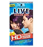 Now in HD,, Mystic Violet offers extra long-lasting, intense colour and amazing shine, so you can show off your inner confidence with ease. The LIVE Color XXL HD Technology intensively saturates each hair strand for high-definition colour that's high...