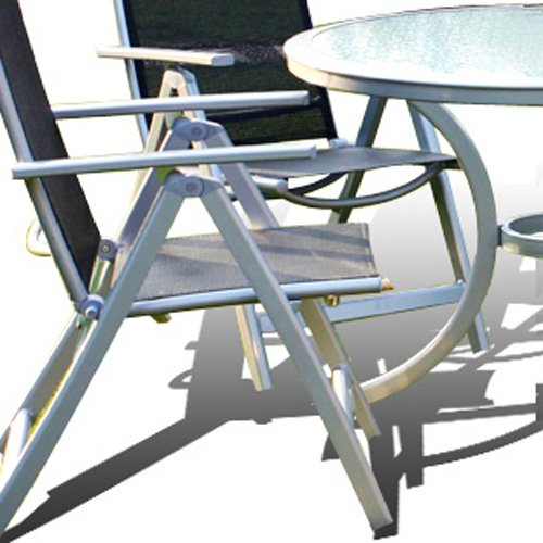 Sale Now On 5 Piece Napoli Aluminium Garden and Patio Set Only £149.95