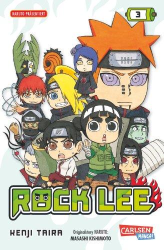 Rock Lee, Band 3