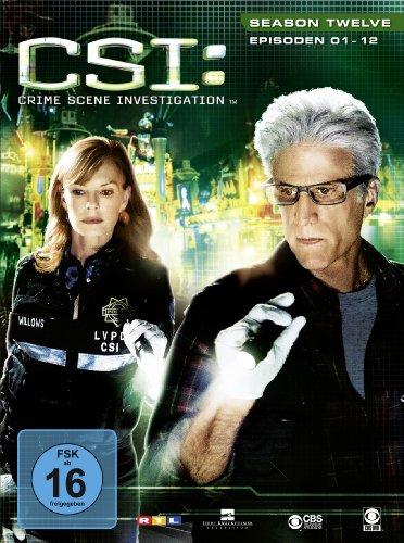 CSI: Crime Scene Investigation - Season 12.1 [Limited Edition] [3 DVDs]