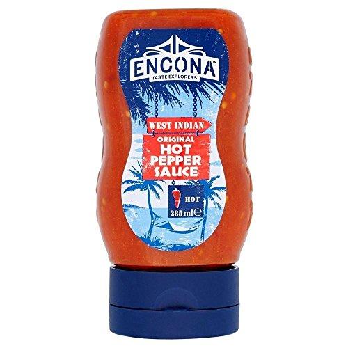 Encona Original Hot Pepper Sauce (285ml) - Packung mit 2
