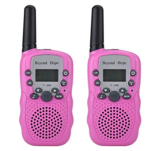 Review Beyond Hope Walkie Talkies(Upgraded Version) Twin Toy for kids Easy To Use and Kids Friendly ...