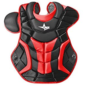 Buy All Star System 7 Chest Protectors Black Scarlet by All-Star