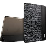 iPad Air 2 Case, ESR® Ultra Slim Case Cover PU Leather with Magnetic Auto Wake & Sleep Function for iPad Air 2 / iPad 6th Generation (Black Arrows)