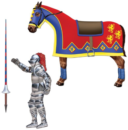 Jointed Jouster (horse & lance cutouts included) (3/Pkg)