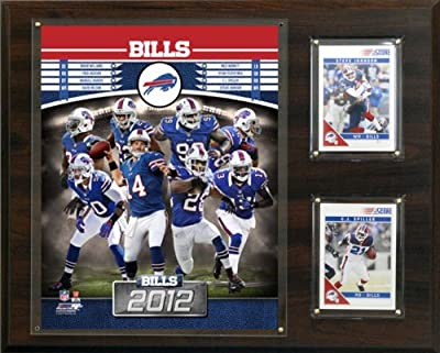 NFL Buffalo Bills 2012 Team Plaque