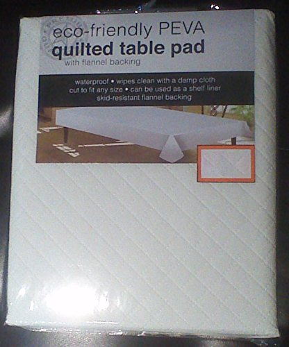 Awardpedia quilted table pad 52 x 70 for Table induction 70 x 52