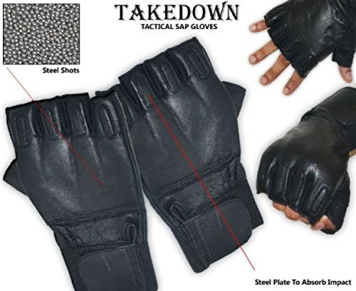 defence-security-gloves-mitt-leather-renforces-metal-motorcycle-police-sap-gloves-takedown-size-l