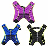 Weighted Vest 5Kg Weight Loss Training Running Adjustable Jacket Removable Weight Crossfit Weight Loss Body Workout Exercise