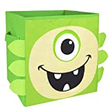 Moderno Monster Littles Nuby plegable compartimiento de almacenaje (Verde)