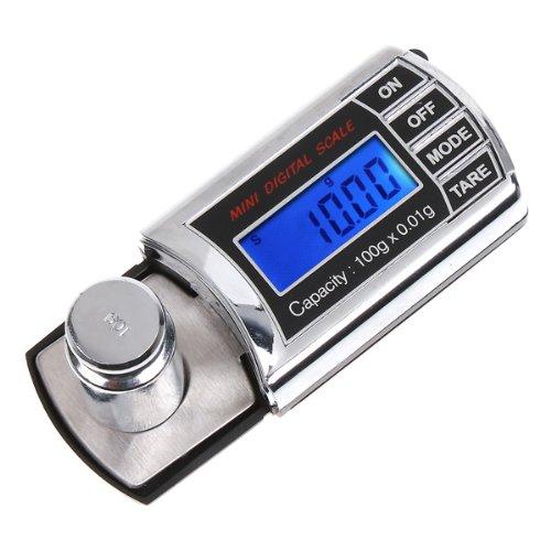Andoer 200g * 0.01g Mini balance numérique de poche pour les bijoux Cuisine Gram Oz Ct (A5)