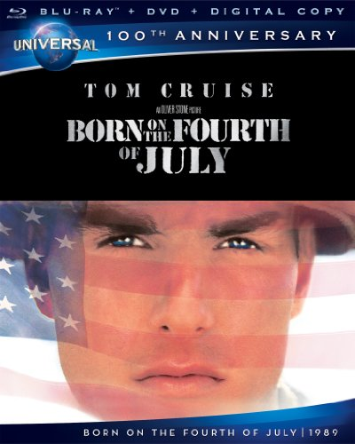 Cover art for  Born on the Fourth of July (Blu-ray + DVD + Digital Copy)