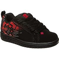 ディーシー DC Court Graffik SE Skate Shoe - Boys' Black True Red Battleship アウトドア キッズ 子供 男の子 ブーツ 靴 シューズ 並行輸入