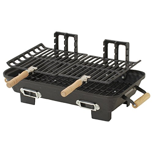 marsh-allen-30052amz-kay-home-products-cast-iron-hibachi-charcoal-grill-10-by-18-inch