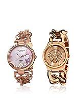 Akribos XXIV Set de 2 relojes AK677RG