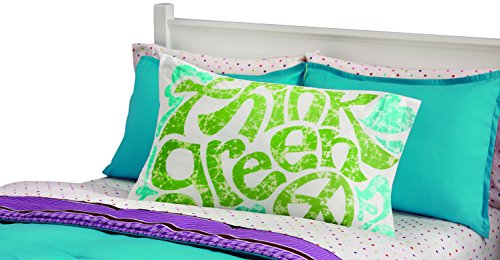 "Rock Your Room Think Green Pillowcase, 20 x 26"" - 1"