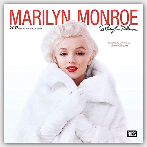 Marilyn Monroe Foil 2017 Calendar (Square Wall)